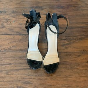 Trendy strappy heels